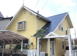 宇都宮市 M様邸 外壁・屋根塗装・ケラバ板金包み